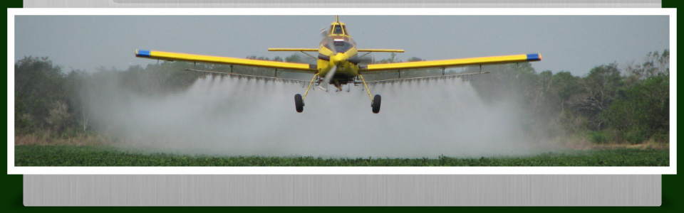 The 'Quikway' to Alberta's Skies - spraying crops