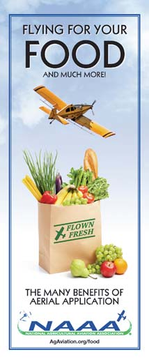 Flying for your food and much more!